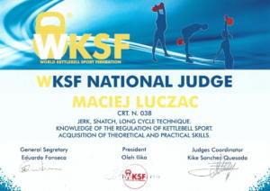 WKSF National Judge