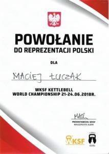 WKSF powolanie