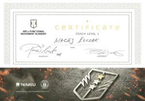 Certyfikat-Coach