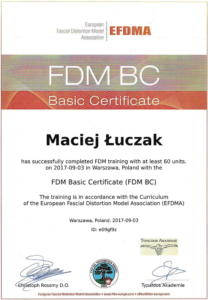 Maciej Łuczak FDM Łódź