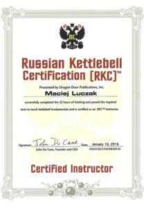 Certyfikat-Rosja