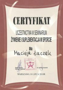 Certyfikat-Seminarium