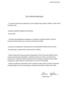 List referencyjny2